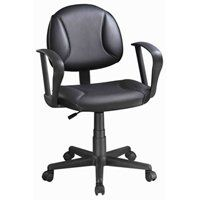 Simple Spaces Chair Office W/Arm Black