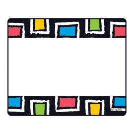 Bold Strokes Rectangles Terrific Labels, 36 ct